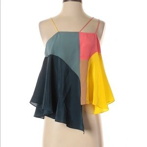 Lilka Anthropologie Silk Tank Top